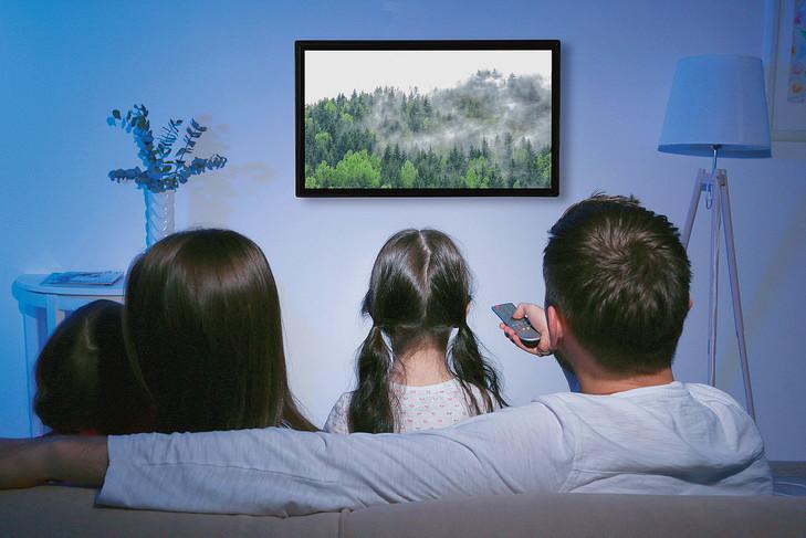 Les règles d'or pour réussir une soirée télé en famille