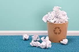 3 façons d'améliorer un lieu de en réduisant les papiers à jeter